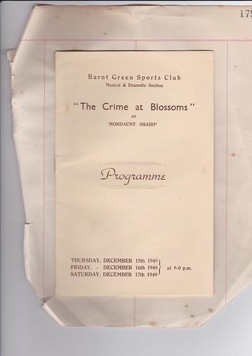 Dec 1949: Programme 1