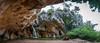 Sota la protecció de La Fou (miquelom) Tags: fou balma cueva catalunya tous cascada naturaleza