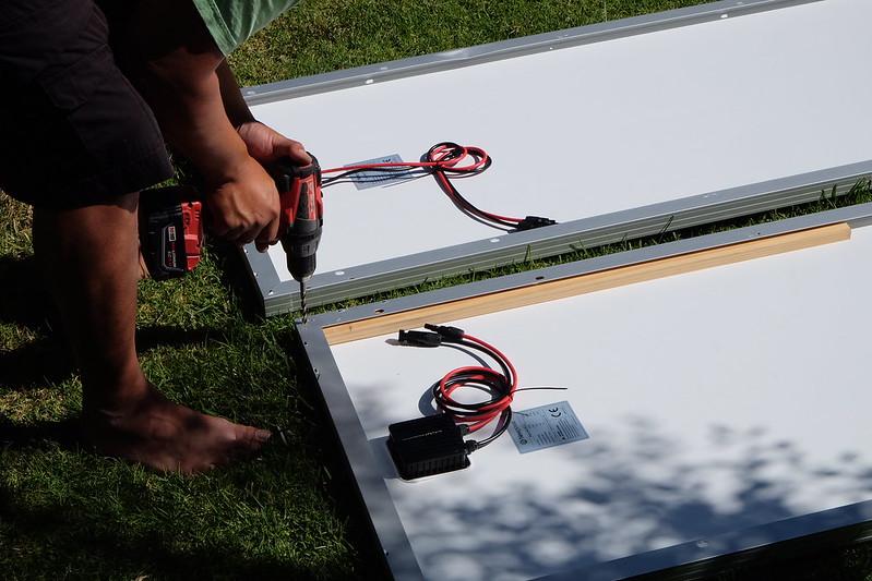 Sprinter Van Build Day 14 042218