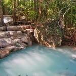 Erawan waterfalls in Kanchanaburi, Thailand thumbnail