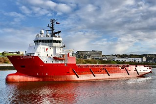 FS Balmoral - Aberdeen Harbour Scotland - 27/4/2018