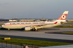 "TC-JNC, ""Kushimoto,"" Retro Livery, THY Turkish Airlines, Airbus A330-203, KATL, May 2018 (a2md88) Tags: tcjnc airbusintheus turkishairlines airbusa330 a330 atl a330200 kushimoto a330203 thyturkishairlines katl aviation airplane"