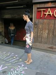 Wednesday Colours - NY Style (Pushapoze (NMP)) Tags: newyorkcity westvillage fashion style youngwomen jeunesfemmes mode
