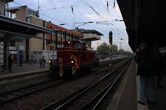 V60 447 te Trier (vos.nathan) Tags: museum eisenbahn club losheim db deutsche bahn v60 447 trier hauptbahnhof hbf