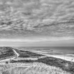 Domburg, Zeeland (patrick Thiaudiere, thanks for 1,5 million views) Tags: zeeland domburg dunes hdr bw paysbas nederland netherlands sable sand mer sea see zee