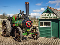 Beamish 2018 (Ben Matthews1992) Tags: beamish museum 2018 county durham britain england old vintage historic preserved preservation vehicle transport haulage rally show burrell single agricultural general purpose no6881 james white coal merchant coke