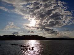 Abendstimmung auf Usedom (bernstrid) Tags: usedom insel ostsee wasser wolken meer seebad heringsdorf mv sonne