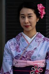 Tokyo-3 (rwscholte) Tags: tokyo asakusa portrait pentax k1 rwsholte japan kimono availablelight pentaxian ricohpentax
