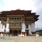Kloster Gangtey Monastery, Bhutan