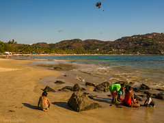 Local Kids on Playa la Ropa (kensparksphoto) Tags: kids children play beach zihuatanejo mexico local