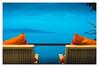 Verandah (Alex E. Milkis) Tags: kohsamui sea balcony relax thailand island journey splittone sunny clear fade wide beautiful tones vacation explore exotic national d810 2470 postprocess imagine travel best moment land water sky colorful glorious