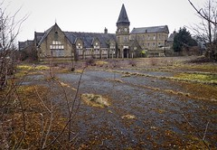 Oakes, Lindley Huddersfield West Yorkshire 11th March 2018 (loose_grip_99) Tags: wellington street oakes lindley school disused abandoned huddersfield west yorkshire england uk urban cityscape march 2018