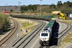 Lugo (REGFA251013) Tags: tren train sogama comboio renfe adif diesel