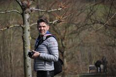 Spring session (RIch-ART In PIXELS) Tags: portrait landgoedcranenweijer zuidlimburg thenetherlands kerkrade leatherjeans leatherpants leather nikon