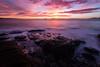 May sunrise (Aaron.J.r.S) Tags: swansea sky sea sunrise nd ndfilter neutraldensityfilter eastcoasttasmania ef1740mmf4lusm tasmania tasmanian thehazards landscape lightroom4 longexposure ocean rocks color water