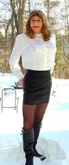 Looking smart in my white blouse and black leather skirt (donnacd) Tags: sissy tgirl tgurl dressing crossdress crossdresser cd travesti transgenre xdresser crossdressing feminization tranny tv ts feminized domina touchy feely he she look 易装癖 シー