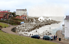 Portrush Fisheries Merged Image (Public Record Office of Northern Ireland) Tags: portrush coantrim fisheries welch rwelch sea bay seaside promenade