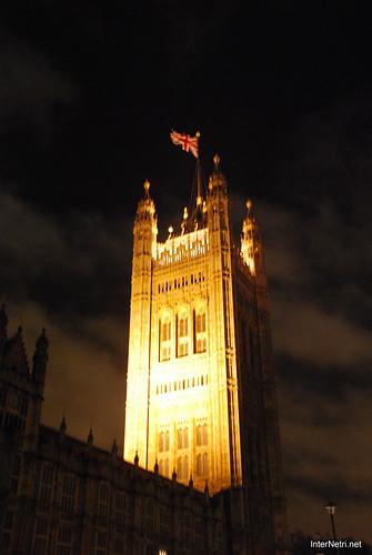 Парламент і Біг Бен Лондон вночі InterNetri United Kingdom 0455
