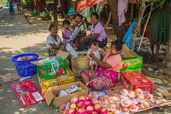 Yangon Circular Railway and Tadalay Station in Myanmar. (KyotoDreamTrips) Tags: burma myanmar tadalaystation yangon yangoncircularrailway yangonregion myanmarburma mm