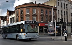 Nottingham City Transport Bus 305 in Nottingham. (ManOfYorkshire) Tags: yn57fyw 305 mnct nottinghamcitytransport nottingham citycentre city transport bus company silver carltonway 2008 2018 route39