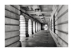 The Portico (PeteZab) Tags: nottingham councilhouse arches building architecture patterns mono blackandwhite bw peterzabulis lines