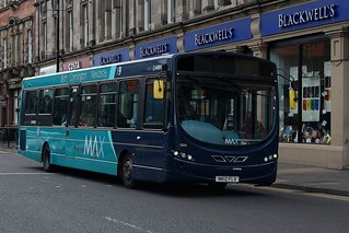 Arriva North East: 1504 / NK12 FLV