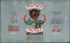 PANTHER LIKE A PANTHER by The Heads of State & Jermaine Rogers for Interboro, Pipeworks, and Run The Jewels (Label_Craft) Tags: beer beers craftbeer labels craft labelcraft bottle can design illustration type fonts burp beerme brew suds brewery interboro pipeworks pipeworksbrewing runthejewels rtj panther