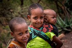 Tigray Children (Rod Waddington) Tags: africa african afrique afrika äthiopien ethiopia ethiopian ethnic etiopia ethnicity ethiopie etiopian tigray children group outdoor portrait people remote culture cultural
