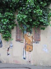 Street art a Parigi (ho visto nina volare) Tags: parigi paris 2016 francia france streetart