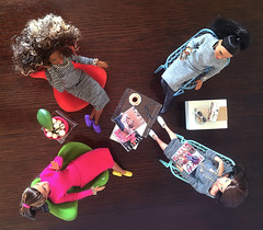 4_of_a_kind_01_2s (doll_enthusiast) Tags: mtm dolls made move barbie doll photography fashion collecting