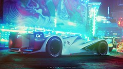 ExperiMENTAL (Jaden Low) Tags: mazda gran turismo vision concept technical art digital atmosphere lights flare color colour truck video game experimental rainbow lightshow sport gt car racing
