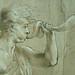 PRIMATICE - Jeune Homme ailé sonnant d'une Trompe auprès d'un Troupeau de Cygnes (Louvre INV8570) - Detail 04