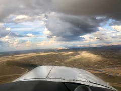 Spring flying, Bakersfield, CA (- Adam Reeder -) Tags: sky n5777v musketeer beech beechcraft a2324 super iii baby mouse flying plane aviation aircraft pilot license california ga generalaviation fixed gear constant speed asel fun awesome adam reeder