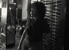 Shauna Howard @jazz night sofitel Los Angeles (Tjs photography909) Tags: blackandwhite portrait fujix100 lowlight contrasts