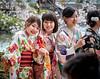 Schoolgirls (sibnet2000) Tags: japan narajapan nara todaijitemple kimono canon5dmarkiv