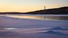 DSC_2656 (vargandras) Tags: frozen lake snow water ice landscape color sunset chimney view shadow bird island pyhäjärvi tampere suomi finland building