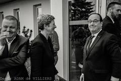 hollande (denis adam de villiers) Tags: noiretblanc politique photojournalisme hollande