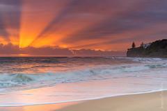 Moffat Beach Sunrise (PaulBalfe) Tags: moffat sunshine coast queensland sunrise