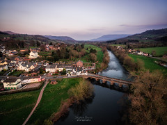Crickhowell Bridge at Dusk