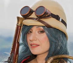 Vanessa - Steam Party (camperpida) Tags: vanessa adularia modella model cosplay cosplayer steampunk steam steamparty sanmarino marino san 2018