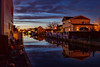The Canal at Night (Bob90901) Tags: canal night bluehour longisland newyork nauticaltwilight longexposure spring southshore clouds water sky rpg90901 canon 6d canonef24105mmf4lisusm 2015 april 2012