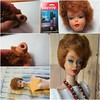 Bubble Cut Makeover (Foxy Belle) Tags: vintage barbie doll titian bubble cut tlc beads necklace tight early only