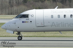 Air Nostrum / SAS Scandinavian Airlines - EC-MJO - 2018.04.18 - ENZV/SVG (Pål Leiren) Tags: air nostrum sas scandinavian airlines ecmjo airnostrum sasscandinavianairlines flysas bombardier cl6002e25crj1000 crjx stavanger sola norway svg enzv flyplass airport planes plane planespotting aviation aircraft runway rw airplane canon7d 2017 airliner jet jetliner april april2018