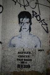 David Bowie stencil, Dope (duncan) Tags: graffiti davidbowie stencil dope bowie