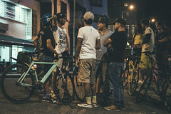 _MG_4580 (catuo) Tags: cycling cyclingteam people portrait sportphotography sport streetphotography street race racing bike trackbike bicicleta colombia carrera ciclismo canon noche alleycat