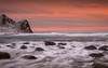 Rough sea (Mika Laitinen) Tags: canon5dmarkiv europe lofoten norway norwegiansea scandinavia unstand beach colorful daybreak landscape mountain nature ocean outdoors rock sea seascape shore sky snow storm sunrise water wave winter nordland no