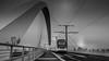 The Bridge... (Daniel Jost Photography) Tags: 2018 dj fujixpro1 lightroom portdurhin strasbourg bw black blackandwhite blanc fuji nb noir noiretblanc photo photographe picture white grandest france fr