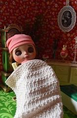 Afternoon Nap (Girl Least Likely To) Tags: blythe ooak cinnamon doll toys miniatures dollhouse diorama dollscene dollroom sindyfurniture mattel etsy rement handmadedress