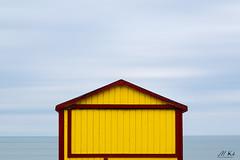 La-Panne_0318-8-3 (Mich.Ka) Tags: belgique lapanne beach borddemer cabane cabanedeplage couleur grafic graphique hautsdefrance mer minimalisme plage sea seascape