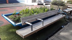 Bench on Bond Street in Wellington (1) (4nitsirk) Tags: bench wellington